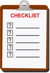 checklist graphic